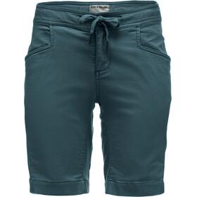 Black Diamond Credo Naiset Lyhyet housut , sininen